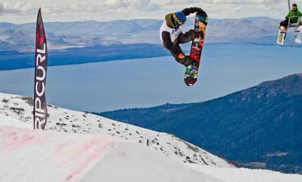 Snowboard rip curl
