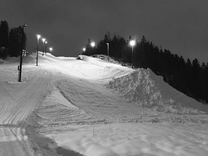 Oslo Superpipe in the making