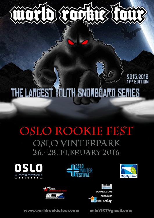 Oslo Rookie Fest 2016 FLYER