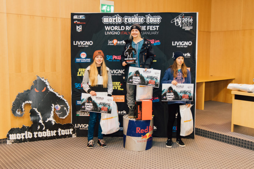 Podium Grom Girls