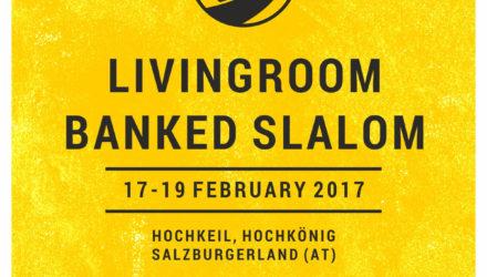 LivingRoom Banked Slalom Poster